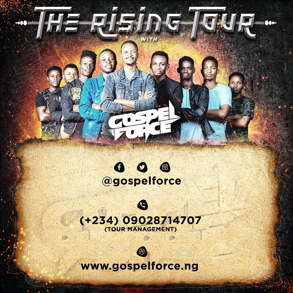gospel force the rising tour